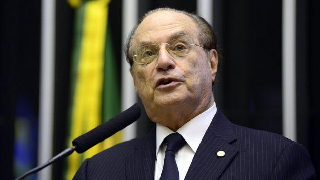 Paulo Maluf na Câmara dos Deputados