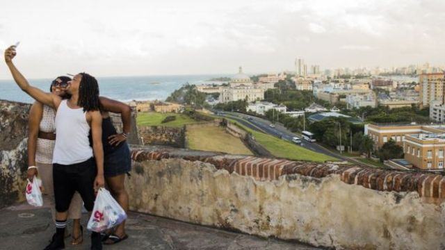 Lo nuevo y lo viejo conviven en San Juan de Puerto Rico.