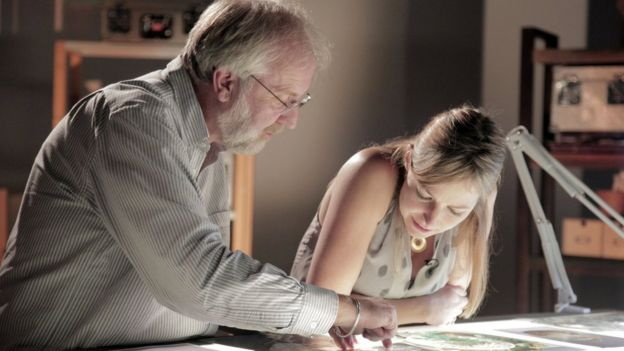 Richard Welender and Dr Alice Roberts