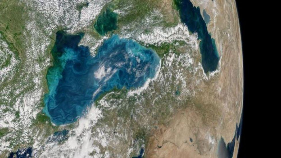 Mar Negro desde el espacio