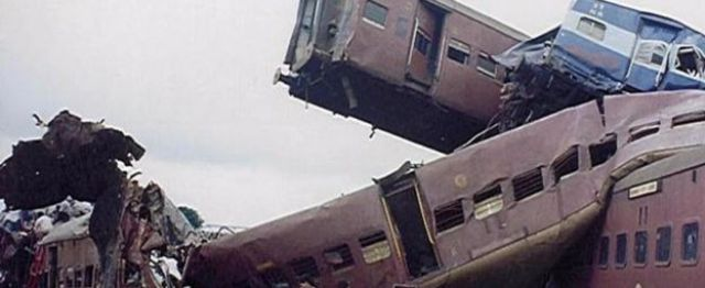 The Gaisal train crash in 1999