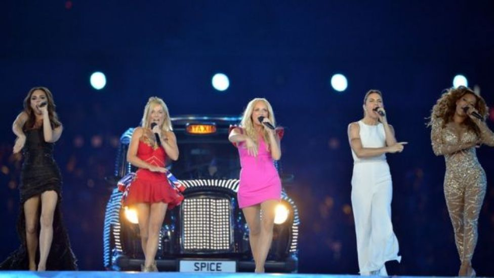 Spice Girls at the 2012 Olympics