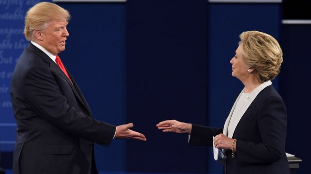 Donald Trump và Hillary Clinton