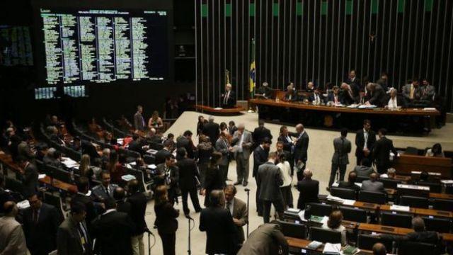 Sessão da Câmara de outubro de 2016 para votar projeto