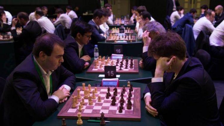 جانب من بطولة الشطرنح في السعودية