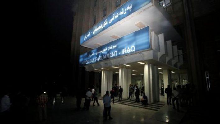 مقر برلمان كردستان العراقي في أربيل