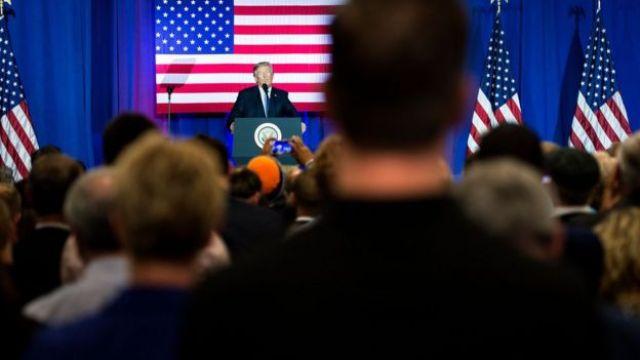 Trump en Indiana