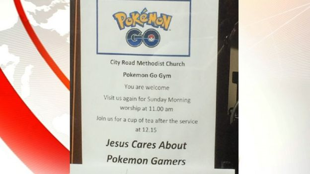 Pokemon Go City Road Methodist Church