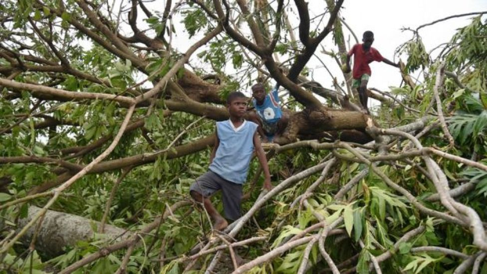 Haití golpeado por Matthew