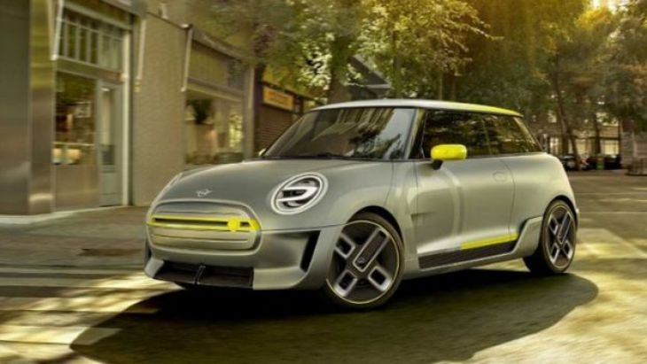 Mini Electric 2019 concept car