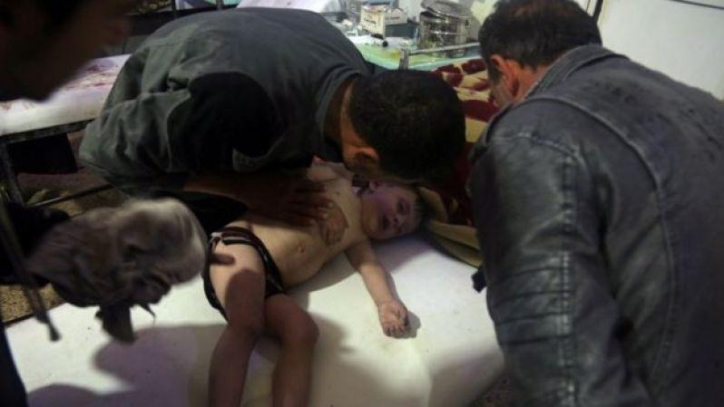 Các nhân viên y tế và các nhóm cứu trợ nói hầu hết các nạn nhân vụ tấn công hôm thứ Bảy là phụ nữ và trẻ em