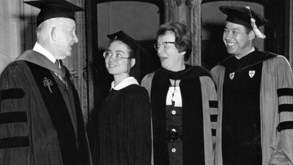 Graduación de Wellesley College