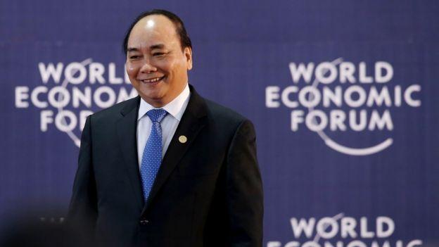 Vietnam Prime Minister Nguyen Xuan Phuc