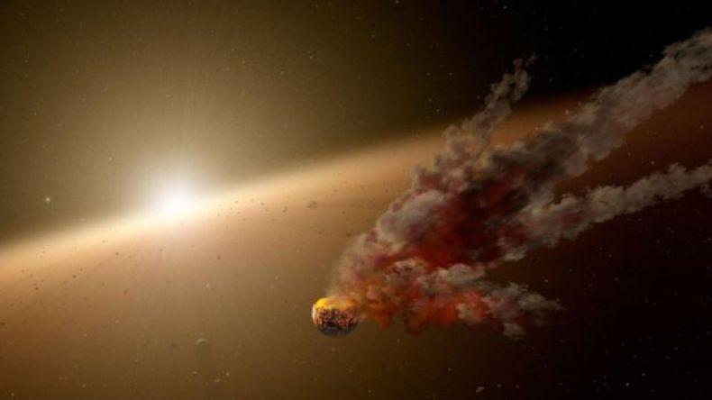 Ilustración de la KIC 8462852