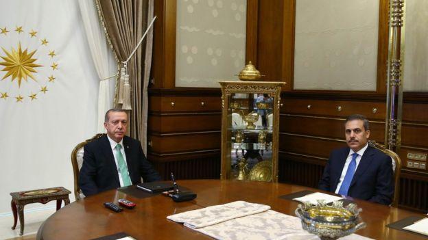 Erdoğan ve Fidan