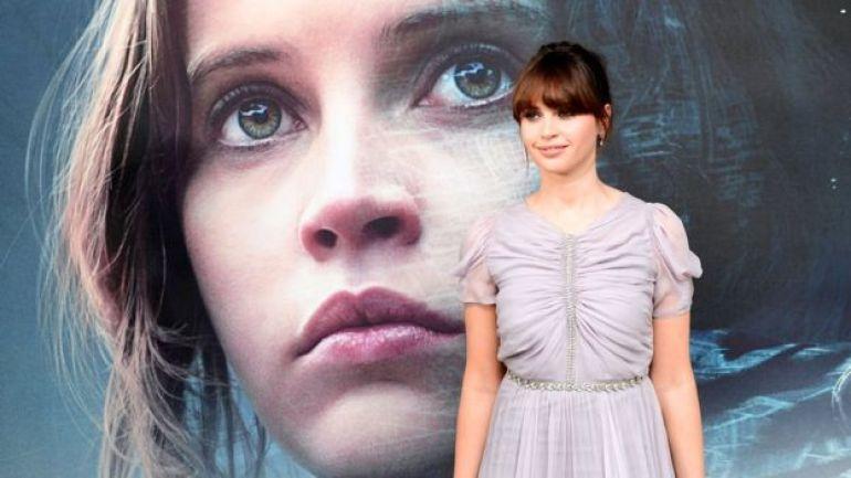 Felicity Jones stars in Rogue One