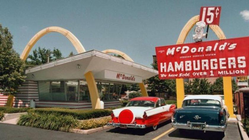 İlk McDonald's restoranlarından biri
