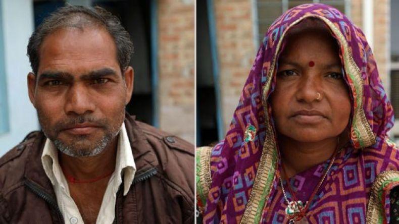 Ganesh y Sita, padres de Monika. (Foto: Peter Leng / Neha Sharma)
