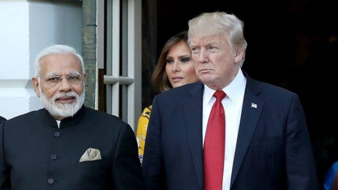 Моди и Трамп