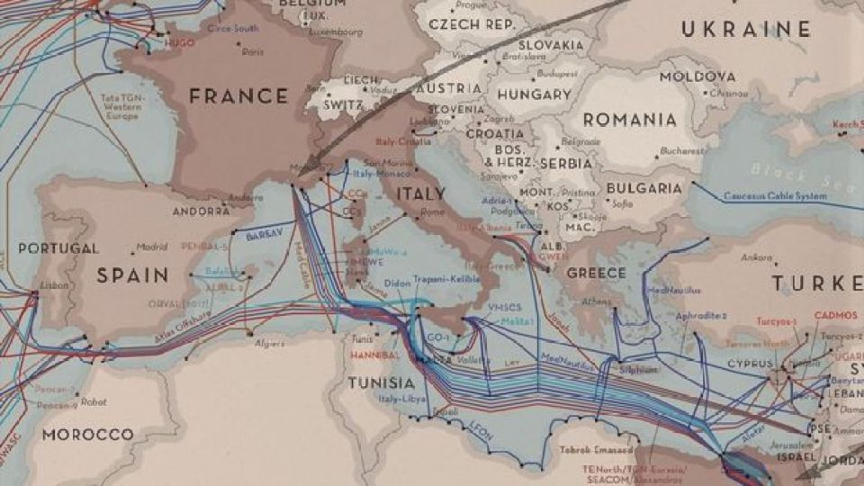 Submarine Cable Map 2017