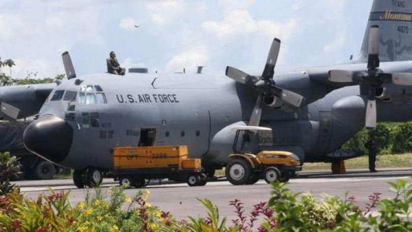 Avião do Força Aérea dos EUA