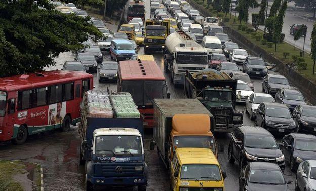 Traffic in Nigeria