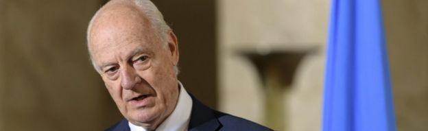 UN envoy for Syria, Staffan de Mistura