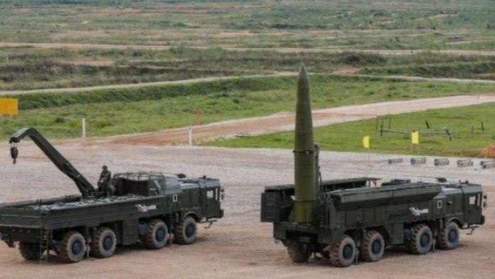 Sistema de misiles Iskander de Rusia