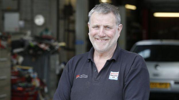 Peter Waite, cancer patient