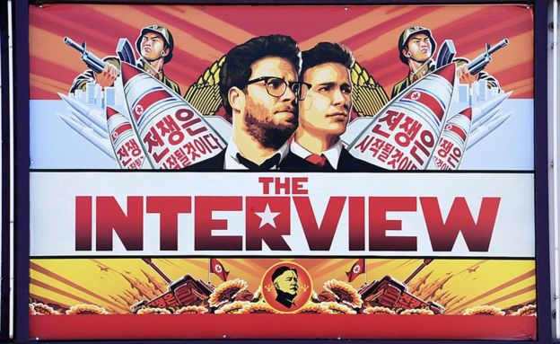 Cartaz de 'A Entrevista'