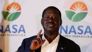 Image result for Kenyans ignore Raila Odinga's sit-at-home order