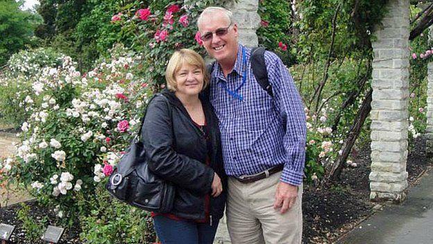 María y Rodney Burrows