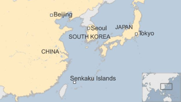 Image result for map of korea and china
