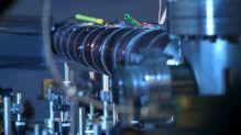 Apparatus in physics lab