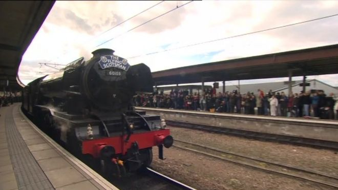 Flying Scotsman in York