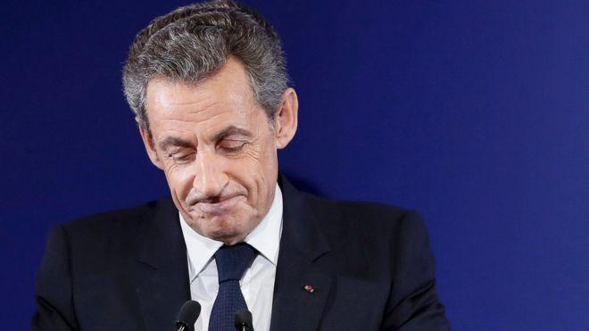 File photo: Nicolas Sarkozy