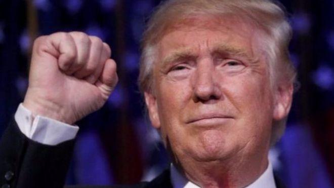 Ông Donald Trump sẽ là tân tổng thống Mỹ