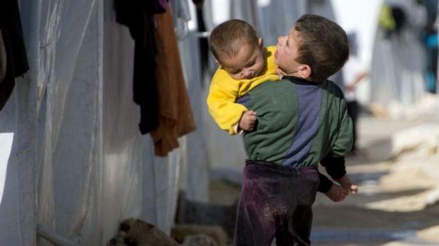 Syrian refugees (file photo)