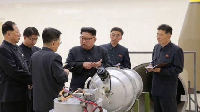 الزعيم الكوري كيم جونغ-أون