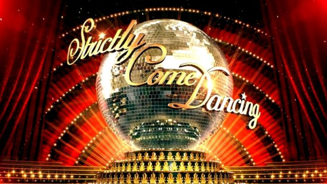 Image result for image of strictly come dancing logo