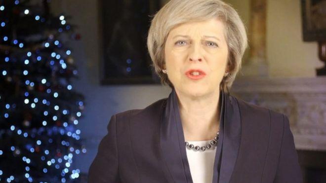 Theresa May 2016 Christmas message