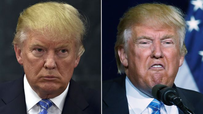 Image result for images of trump as jekyll and hyde