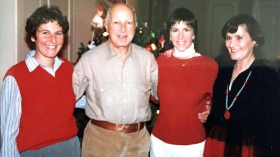 Maryann's family, Christmas 1975 or 1976