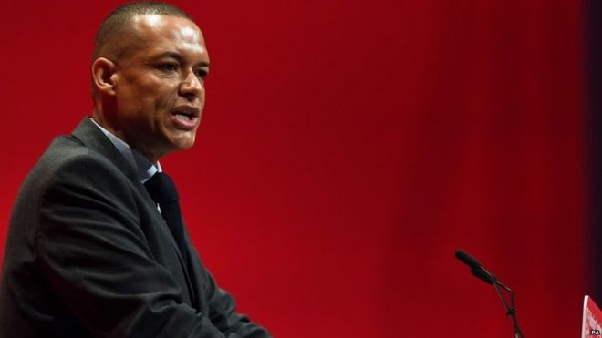 Clive Lewis speaking in Liverpool