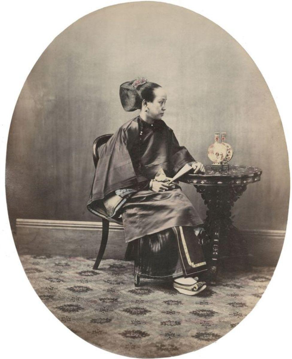 Una mujer cantonesa