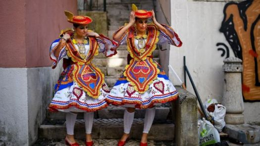 Bailarinas em Portugal