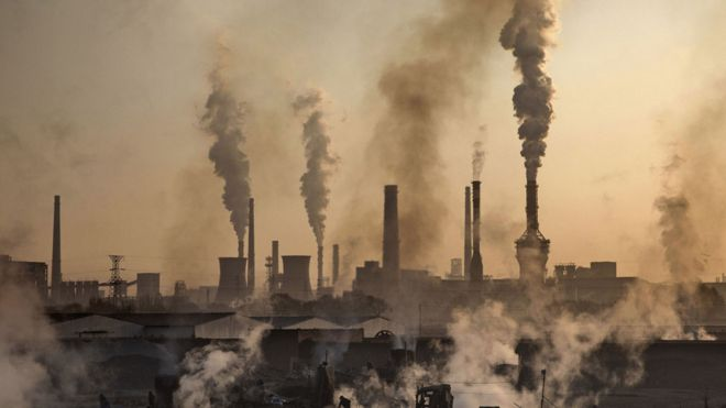 Planta de acero en China