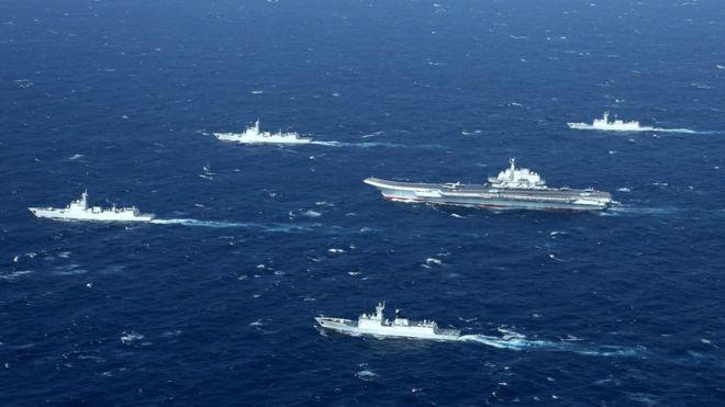 Tàu chiến của Trung Quốc ở Biển Đông