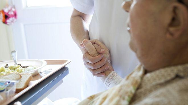 Palliative care - file picture