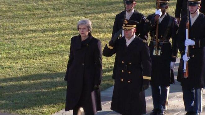 """Bà nói rằng hai nước """"phải luôn bảo vệ các bạn bè và đồng minh."""